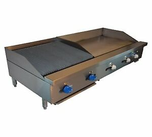 Comstock castle Fhp60 36t 2rb Griddle Charbroiler Gas Countertop