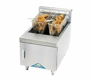 Comstock castle 2616hg Fryer Gas Countertop Full Pot
