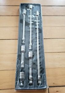 New Snap On 206afxwp 3 8 6 Pc Wobble Plus Extension Set Free Priority Shippin