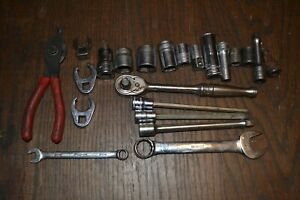 Lot Of 22 Pieces Of Snap on Tools See Pictures Listing Free Shipping
