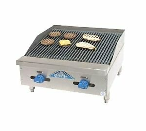Comstock castle 3224rb Charbroiler Gas Countertop