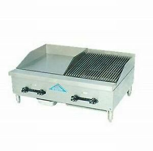 Comstock castle Fhp30 18 1rb 30 Countertop Gas Griddle Charbroiler