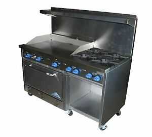 Comstock castle F33032 24 Range 60 Restaurant Gas