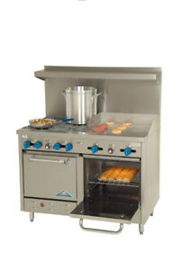 Comstock castle F3218 24 Range 48 Restaurant Gas