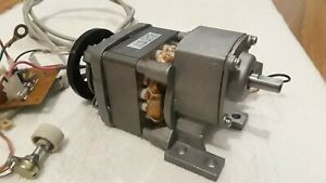 Variable Speed 120v Ac 50w Gear Motor W Electronic Controller