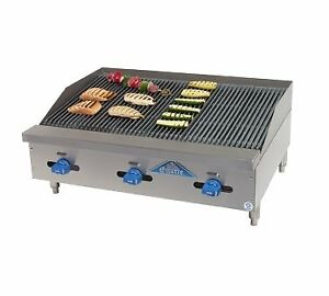 Comstock castle 3248rb Charbroiler Gas Countertop