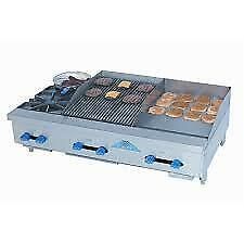 Comstock castle Fhp60 30 2 5rb Griddle Charbroiler Gas Countertop