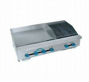 Comstock castle Fhp42 30 1rb 42 Countertop Gas Griddle Charbroiler