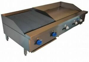 Comstock castle Fhp60 36 2rb 60 Countertop Gas Griddle Charbroiler