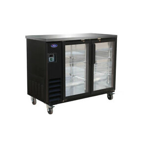 Valpro Commercial Refrigeration Vp48g Back Bar Cabinet Refrigerated