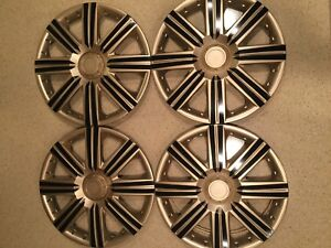 15 Inch Hubcaps Wheel Covers Universal Wheel Rim Cover 4 Pieces