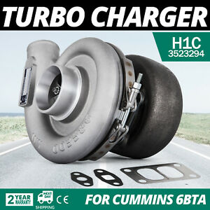 Hq Diesel 6bta Turbo Charger For Comnins Holset H1c 3523294 3523223 Look