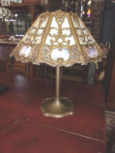 Antique Stained Glass B H Lamp Selling Out Make Offer