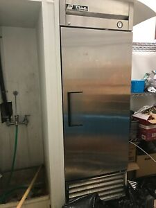 True Commercial Upright Single Door Freezer