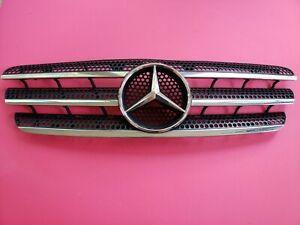 1998 05 Mercedes Ml 320 500 350 Front Hood Radiator Grille Grill Used Oem