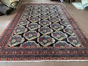 Ca1900s Vg Dy Antique Persian Yalameh Serapi 8x12 Estate Sale Rug