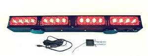 21 5 Wireless Tow Light Bar Red Led Stop Tail Turn Signal With Magnetic Base