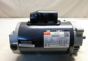 Dayton 1 Hp Jet Pump Motor Capacitor start 3450 Nameplate Rpm 115 208 230 V