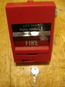 Ge Est Siga 278 Dual Action Fire Alarm Pull Station With Key