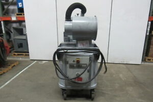 Nilfisk Cfm 3907 Continuous Duty Industrial Vacuum 480v 3ph
