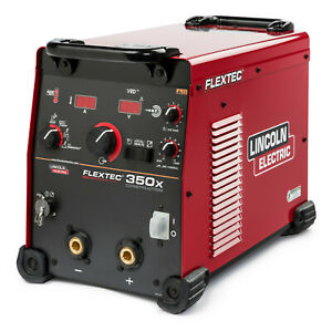 Lincoln Flextec 350x Multi process Welder Construction Model K4271 1