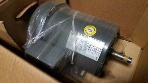 Brand New Weg 1 Hp 3 Phase Motor 00118es3ed56 5 8 Diameter Shaft