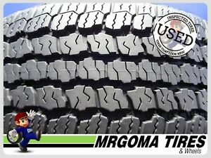 1 Goodyear Wrangler A T Adventure M S 275 55 20 Used Tire 10 32 No Patch 2755520