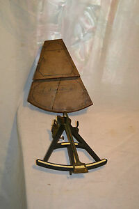 C1800 1840 Spencer Browning Rust Of London Octant Nautical Ship Sextant
