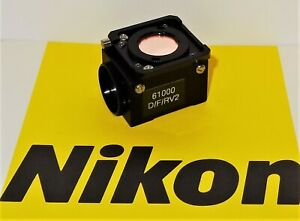 Nikon Chroma Dapi Fitc Tritc Fluorescent Microscope Filter Labophot Optiphot