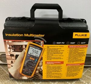 1587 Multi Testers Fc 2 in 1 Insulation Multimeter Industrial Scientific New