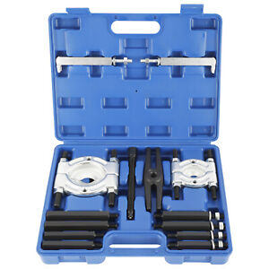 14pcs Fly Wheel Gear Puller Bearing Separator 2 3 Splitters Removal Tool Set