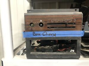 1986 1990 Chevy Caprice Oem Radio Panel Woodgrain