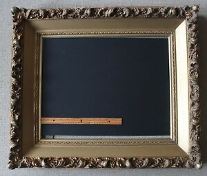 Large Antique Gold Picture Frame Fits 16 X 20 Painting Or Print