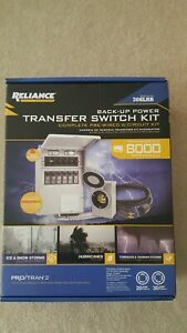 New Reliance Back up Power 306lrk 6 circuit Complete Transfer Switch Kit P2