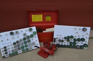 Kwik way Kwik Way Valve Seat Grinder Set Kit Sioux Sunnen Cfr Hd