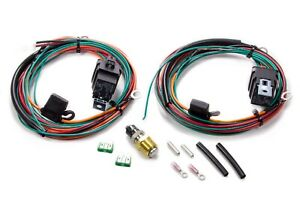 Be Cool Dual Fan Controller Relay And Wiring Harness P N 75117