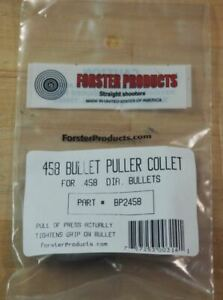 Forster Bullet Puller Collet .458-(BP2458) NEW in Package