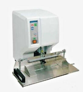 Ebm Adrill Single Spindle Automatic Paper Drill Step And Repeat 2 Cap demo