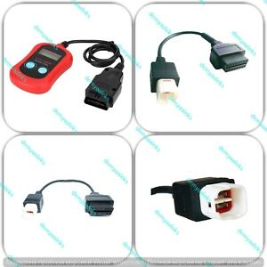 Obd2 Diagnostic Code Reader Adapter Scanner For Yamaha Motorcycle Atv