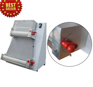 370w Automatic Pizza Dough Roller Sheeter Machine pizza Making Machine 110v