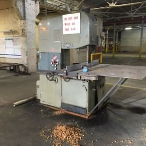 Doall Vertical Band Saw 2618 3d 29833