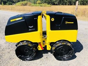 2013 Bomag Bmp 8500 Trench Roller Vibratory Compactor expandable Nice