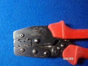 Molex 63811 3300 18 To 24 Awg Side Entry Hand Crimp Tool Made In Germany