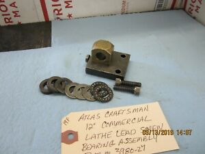 Atlas Craftsman 12 Commercial Lathe Lead Screw Assembly