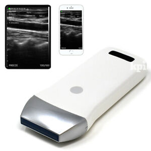 Portable Ultrasound Machine Linear Probe Wireless Wifi Transducer System