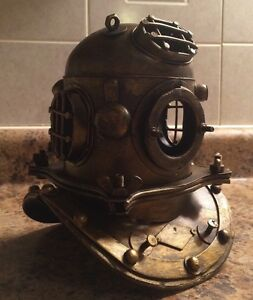 Antique Reproduction Scuba Diver S Helmet Diving Helmet Nautical Divers Diver