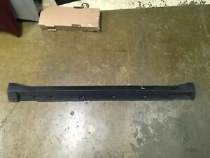2009 Subaru Forester Left Driver Side Rocker Panel Trim Skirt Black Oem