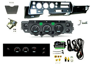 70 72 Chevelle Ss Super Sport Dash Conversion Kit Dakota Digital Vhx 70c cvl k w