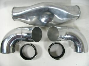 Spectre 98599 Carb Hat Air Intake Bonnet Plenum Kit Low Profile Dual