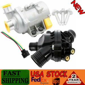 Electric Engine Water Pump Thermostat Bolt For Bmw 128i 325i 11517586925 X3 Z4